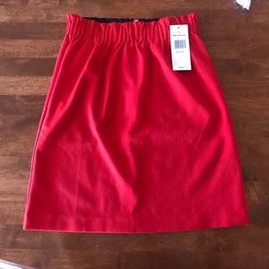 Red Tommy Hilfiger skirt